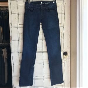 7 For All Mankind Straight Leg Jean Size 29